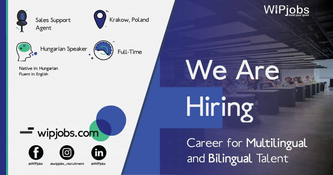 Sales Support Agent HUNGARIAN Speaker