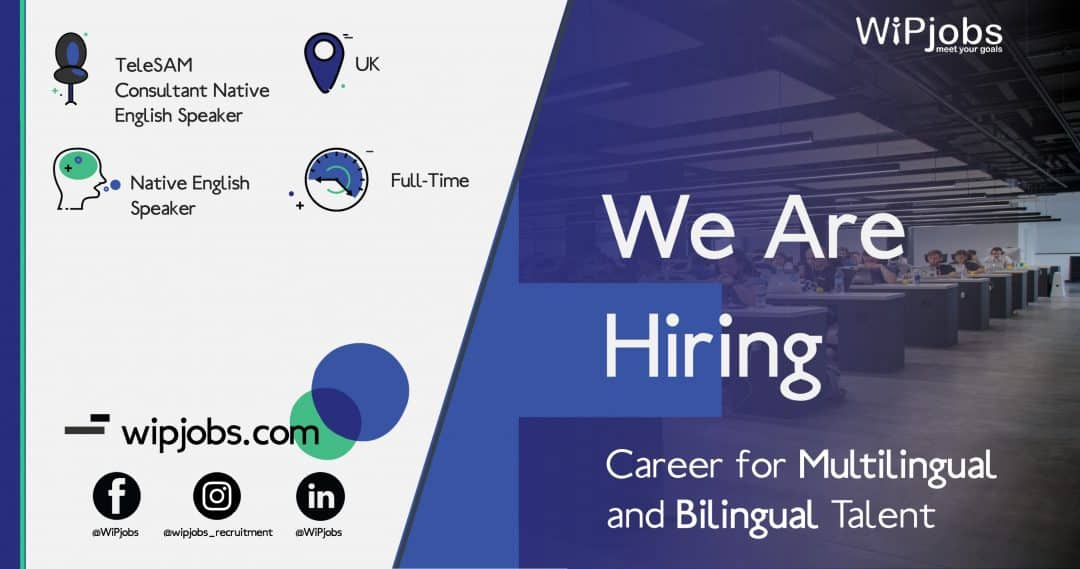 TeleSAM Consultant Native English Speaker