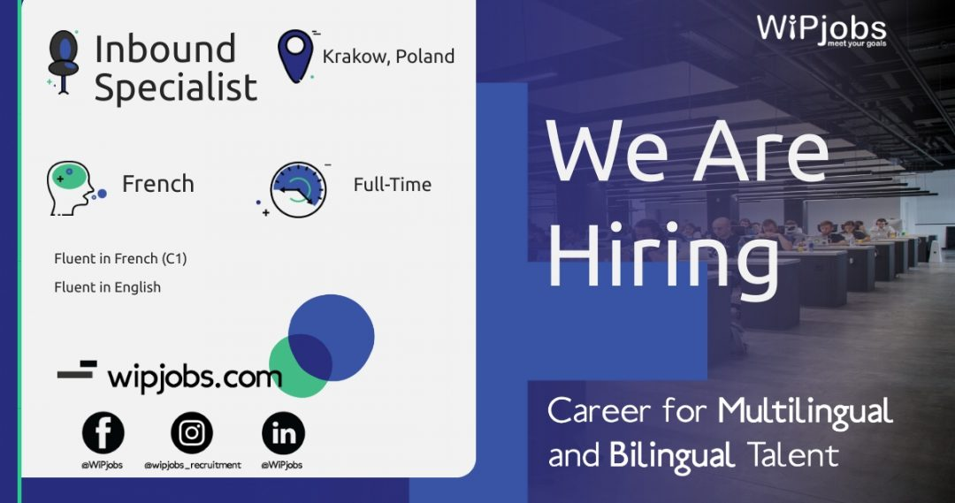 Customer Service Specialist Inbound Specialist FRENCH Speaker