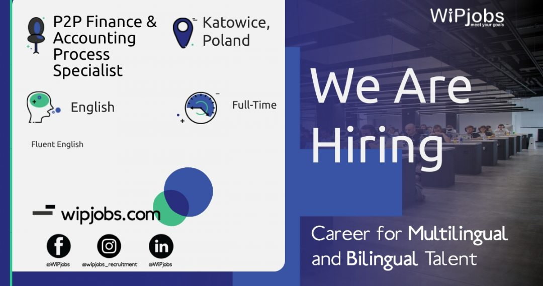 P2P Finance & Accounting Process Specialist ENGLISH Speaker